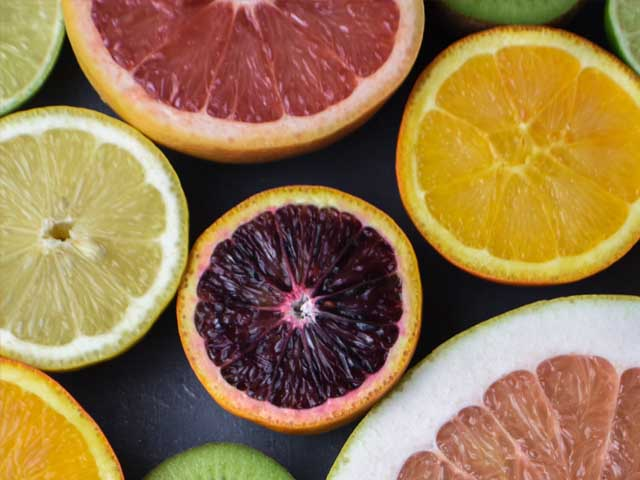 Citrus fruits contain polyphenols which can protect against inflammation.